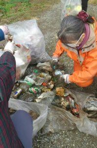 ゴミを分類